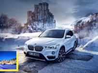 Vyhrajte pobyt v Tatrách a nové BMW radu X1 k tomu na celý víkend!