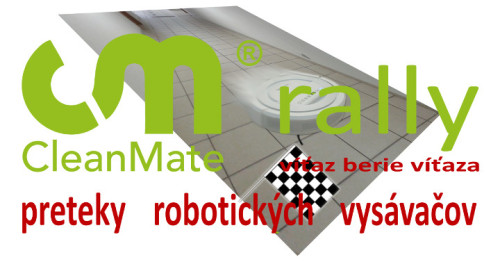 CleanMate rally - súťaž o robotický vysávač
