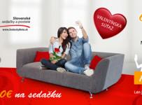 Hrajte so Sedačkami Beta o luxusnú slovenskú sedačku