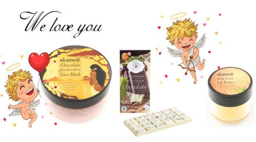 Valentínska súťaž o čokoládovú kozmetiku