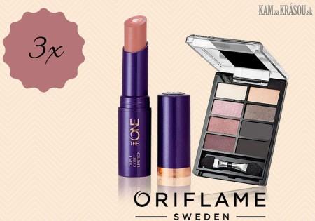 Vyhrajte 3 sady dekoratívnej kozmetiky od Oriflame
