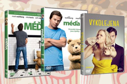 Vyhrajte s 3x filmový DVD balíček s Päťdesiat odtieňov čiernej