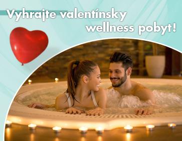 Vyhrajte valentínsky wellness pobyt!