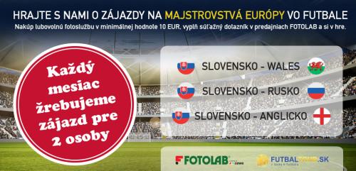 Zaži atmosféru Majstrovstiev Európy vo futbale 2016!