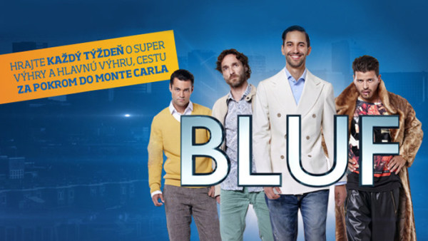 Zapojte sa do súťaže so seriálom Bluf a vyhrajte ceny v hodnote viac ako 5000€!