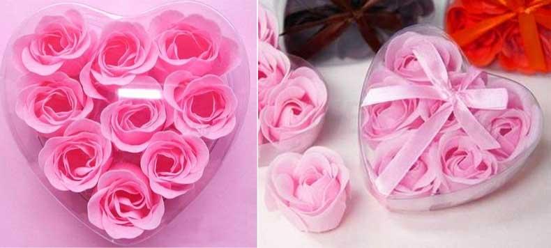 Valentínska súťaž o romantické lupene ruží