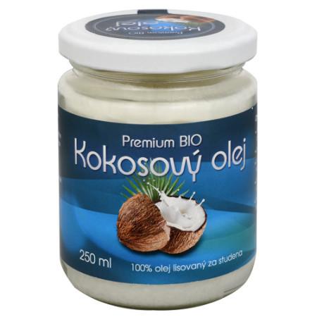 Súťaž o 2x BIO kokosový olej Premium 250 ml