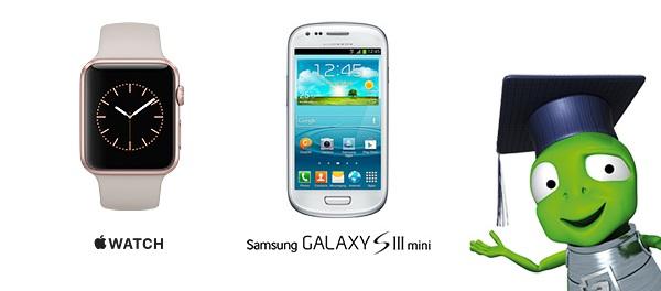 Súťaž o Apple Watch a 5×Samsung Galaxy S3 Mini s Alza.sk