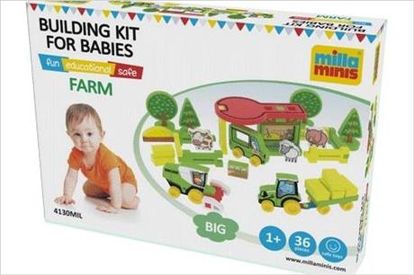 Soutěž o dětskou stavebnici – postavte si farmu Millaminis