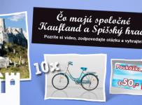 Spoznajte Kaufland a vyhrajte bicykel alebo nákupnú poukážku