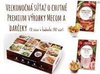 Veľkonočná súťaž o chutné Premium výrobky Mecom a darčeky