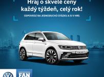 Volkswagen FanZóna vyhraj každý týždeň!