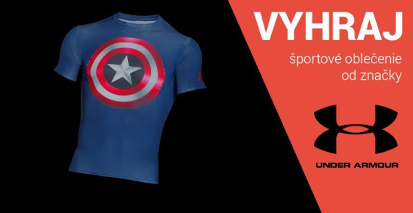 06e131d52e88 Vyhrajte športové oblečenie od Under Armour