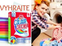 Vyhrajte Colour Catcher a dajte zbohom zafarbenému prádlu!