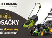 Vyhrajte kosačky a ďalšie skvelé ceny v súťaži s Fieldmann!