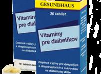 Vyhrajte vitamíny pre diabetikov