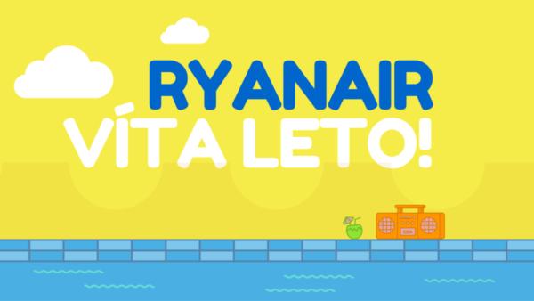 Ryanair víta leto! Súťaž o voucher na letenku