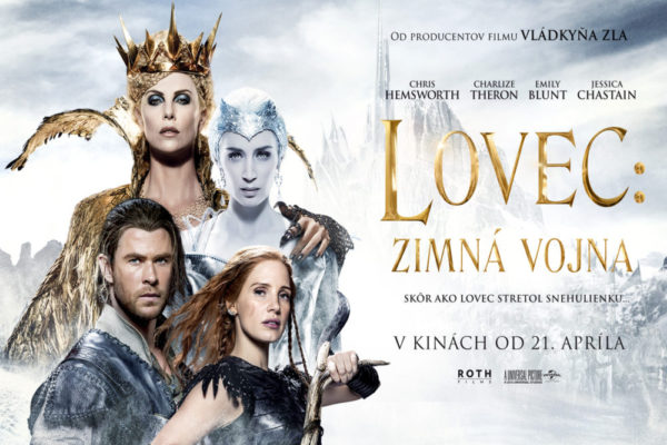 Súťaž o 2 lístky na film Lovec Zimná vojna a DVD Snehulienka a lovec