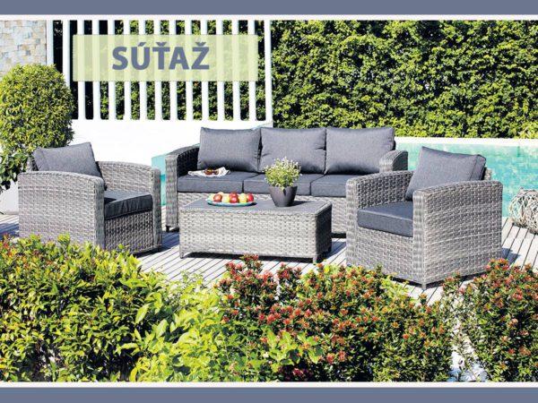 Súťaž o luxusnú záhradnú zostavu od JYSK