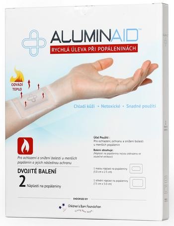 Soutěž o Aluminaid – rychlou úlevu při popáleninách