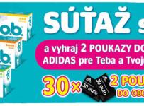 Vyhraj 2 vouchere na nákup v predajni adidas!