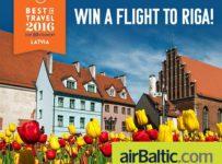 Vyhraj dve letenky Viedeň – Riga