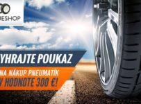 Vyhrajte 300 € na nákup nových pneumatík!