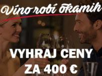 Vyhrajte vína v hodnote 400 EUR