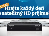 Zapojte sa do súťaže o 20 satelitných HD prijímačov
