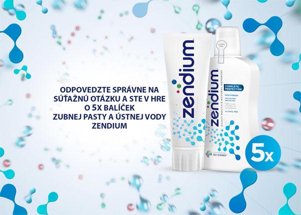 Vyhrajte 5x balíček Zendium