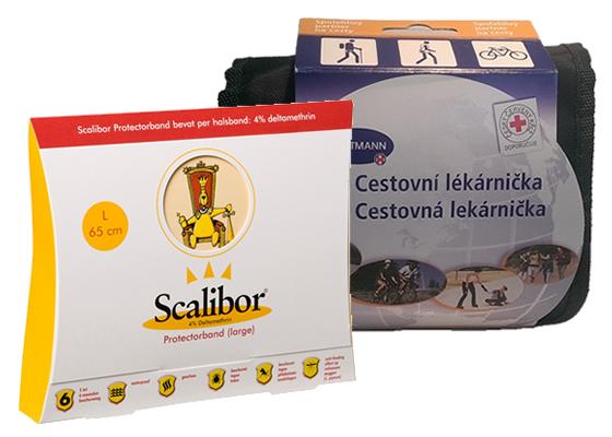 Súťaž o balíček s lekárničkou Hartmann a obojkom Scalibor