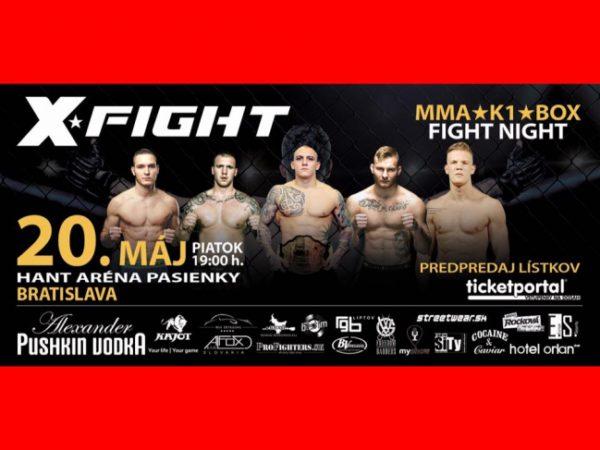 Súťaž o lístky na X FIGHT