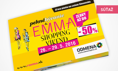 Súťaž o predplatné časopisov EMMA a Pekné bývanie