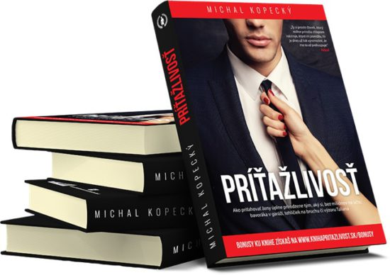 Súťažte o 3 knihy Príťažlivosť od Michala Kopeckého