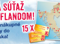 Súťaž o nákupné poukážky v Chorvátsku