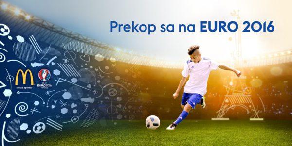 Vyhraj lístky na EURO 2016 vo Francúzsku!
