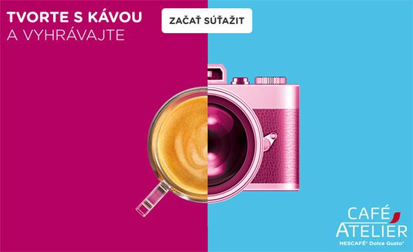 Tvorte s kávou a vyhrávajte