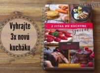 Hrajte o 3 nové kuchárske knihy - Z fitka do kuchyne špeciál