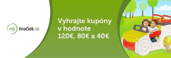 Júnová súťaž s partnerom www.rajhraciek.sk