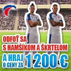 Príďte sa odfotiť s Hamšíkom a Škrtelom a vyhrajte ceny v hodnote až 1 200 €