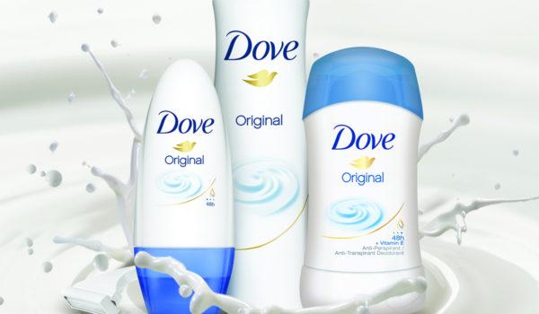 Súťaž o balíček s výrobkami Dove Original