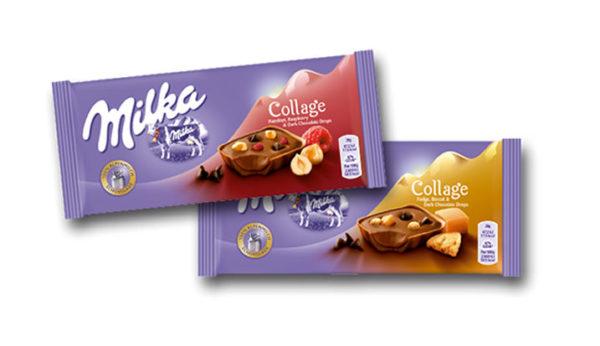 Súťaž o balíčky s čokoládami Milka Collage