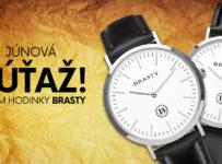 Súťaž o unisex hodinky BRASTY