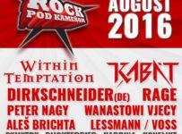 Vyhraj 2×2 vstupenky na festival Rock pod Kameňom 2016