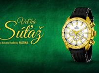 Vyhraj hodinky FESTINA
