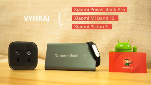 Vyhraj jedinečnú Xiaomi Power Bank Pro, Mi Band 1S alebo Xiaomi Piston 3. generácie!