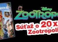 Vyhrajte DVD Zootropolis