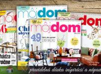 Vyhrajte predplatné časopisov Slovenka alebo Môj Dom