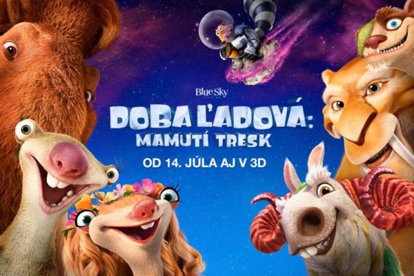 Doba ľadová Mamutí tresk – Vyhraj filmový balíček!