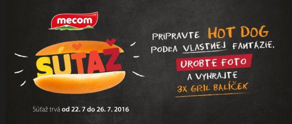 Hot dog súťaž o Gril balíček Mecom